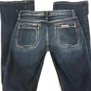 Hudson bootcut jeans, sexy!